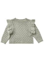 Rylee & Cru La Reina Sweater Agave