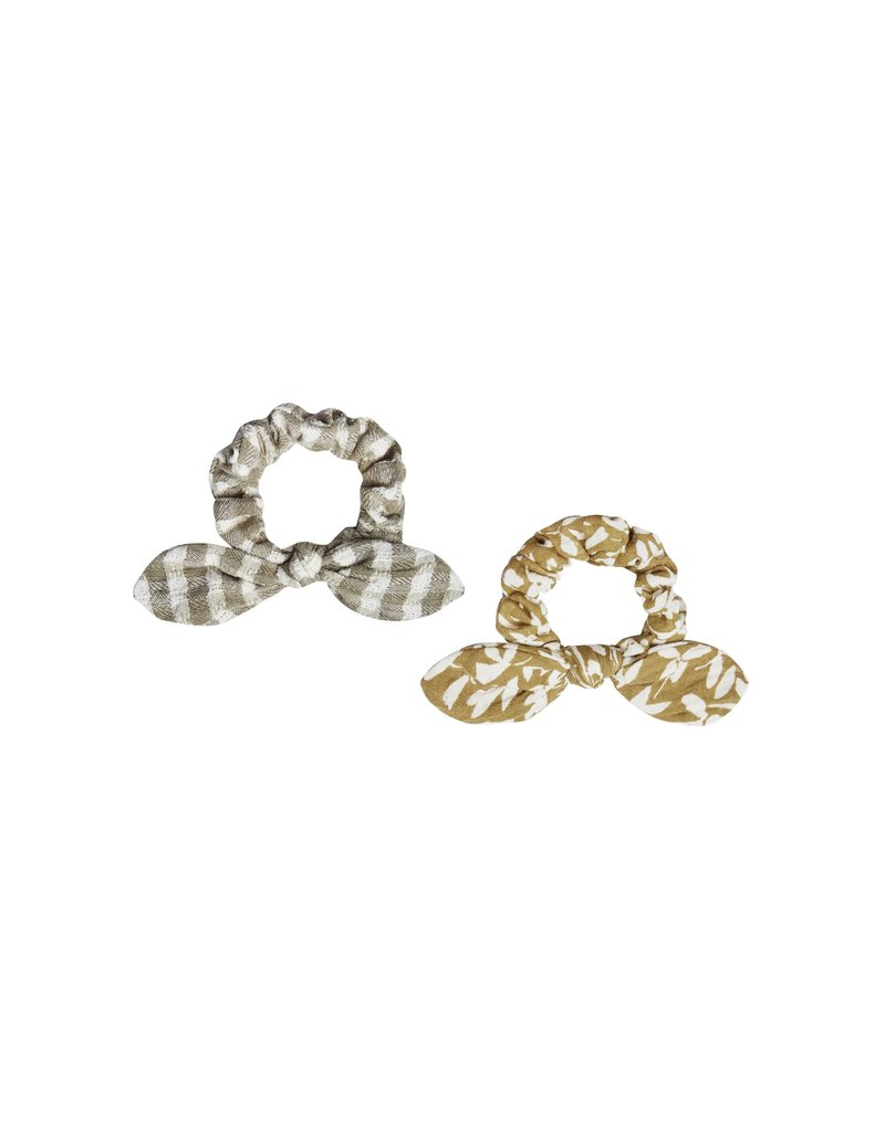 Rylee & Cru Scrunchie Set Gingham/Ditsy Floral