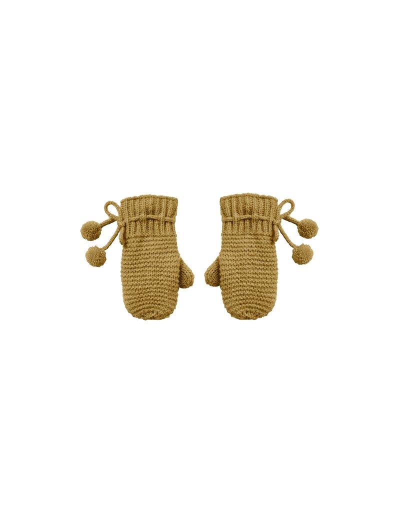 Rylee & Cru Mittens Gold 0/12M