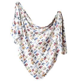 Copper Pearl Knit Blanket Diesel