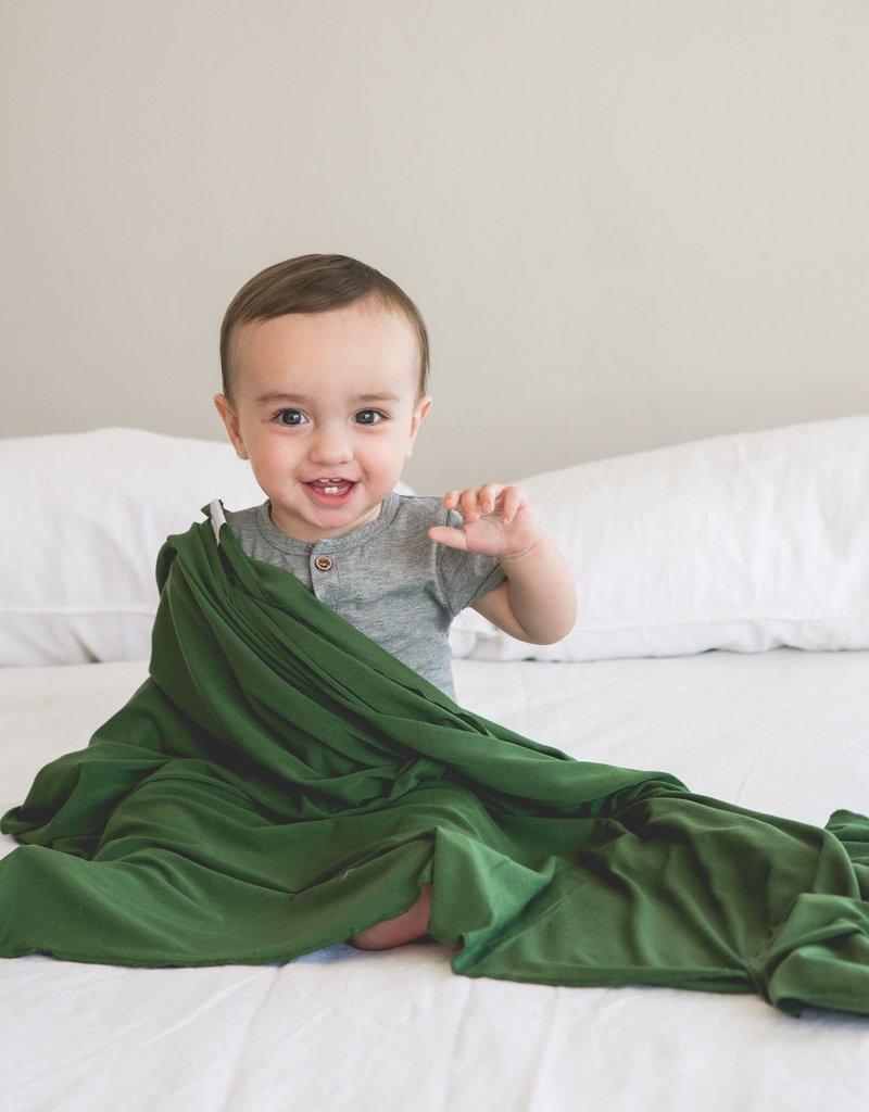 Copper Pearl Knit Blanket Alder