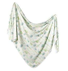 Copper Pearl Knit Blanket Desert