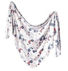 Copper Pearl Knit Blanket Jo