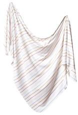 Copper Pearl Knit Blanket Piper