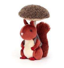 Jellycat Fungi Forager Squirrel