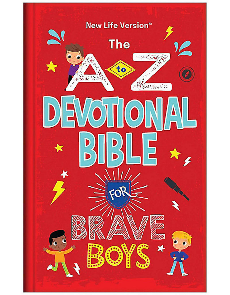 Barbour Publishing The A to Z Devotional Bible for Brave Boys