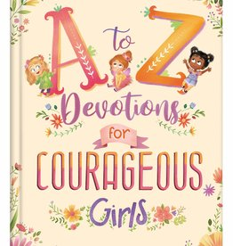 Barbour Publishing The A to Z Devotional Bible for Courageous Girls