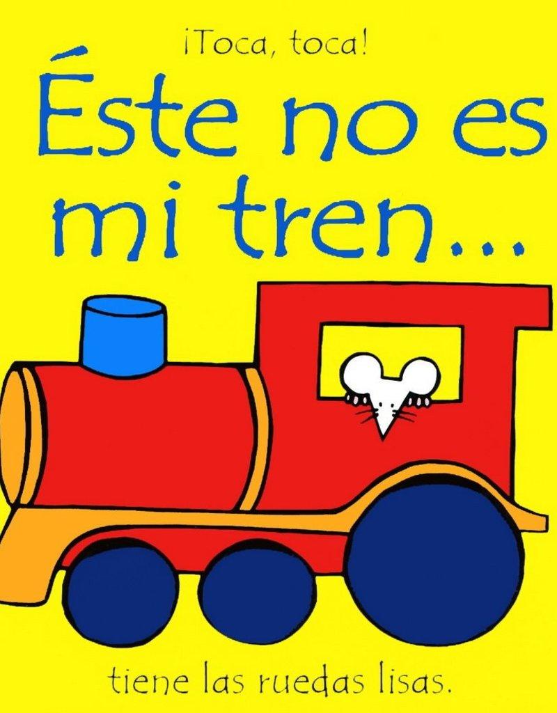Usborne Este no es mi Tren