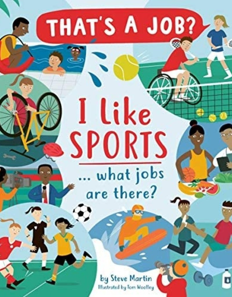 Usborne I Like Sports... What Jobs are There?