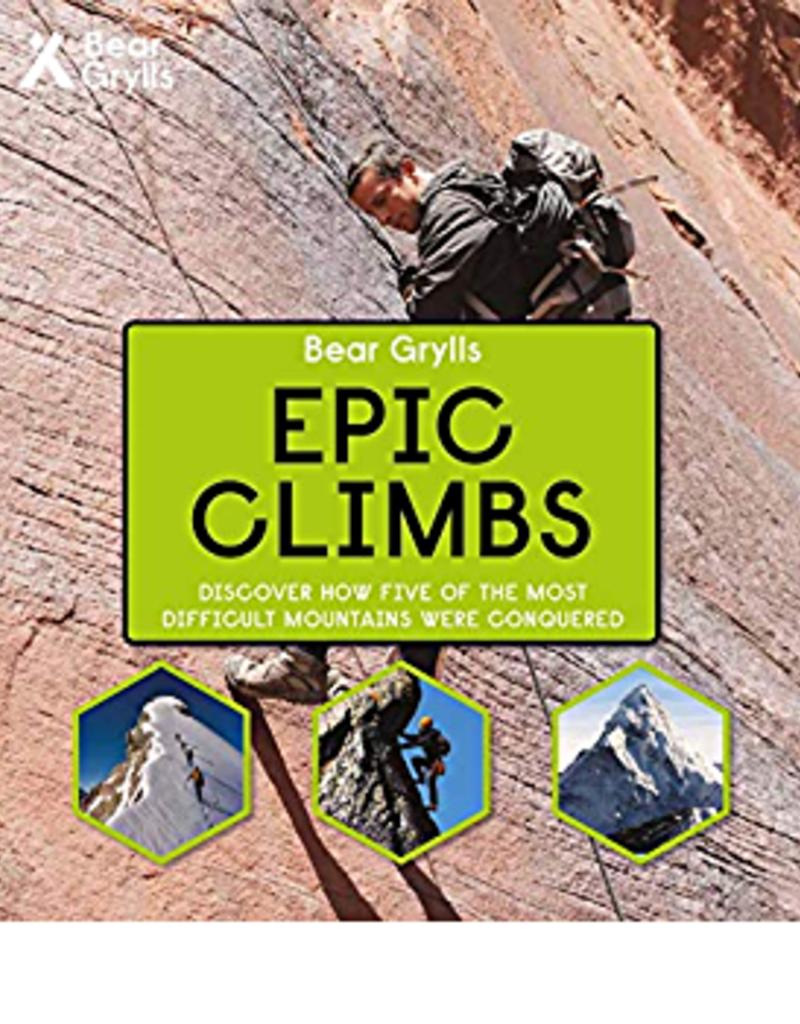 Usborne Bear Grylls Adventures, Epic Climbs