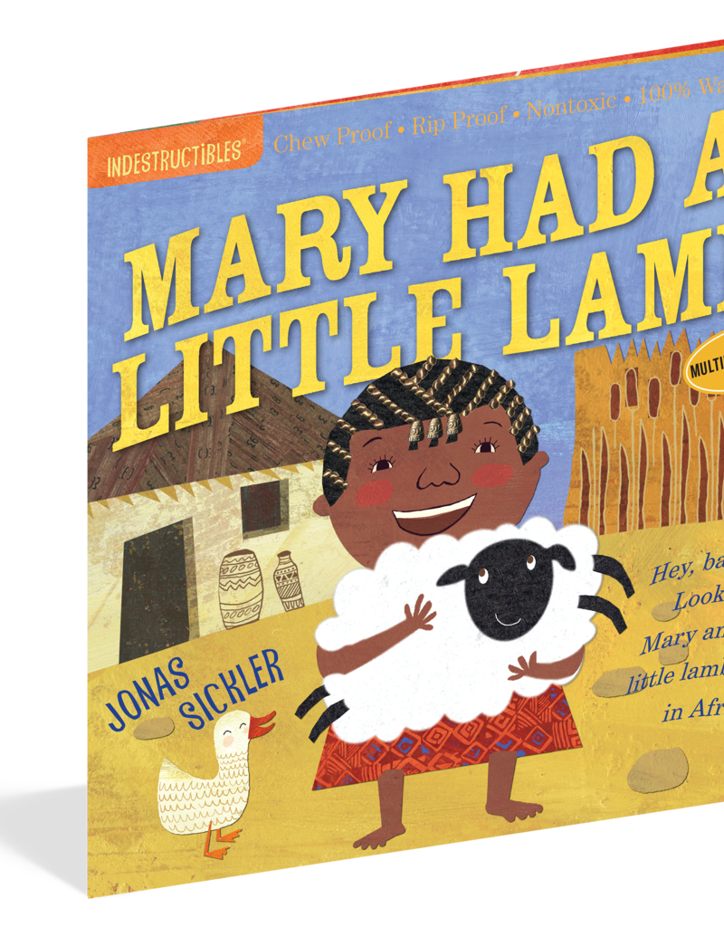 Workman Publishing Indestructibles: Mary Had A Little Lamb