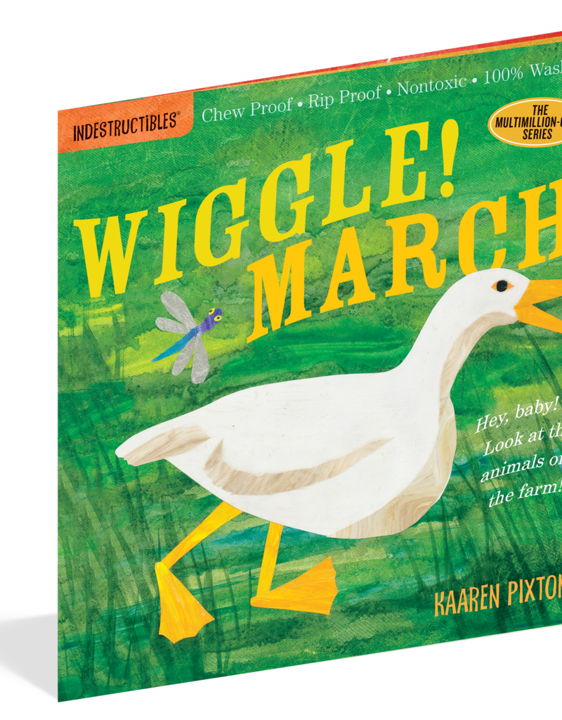 Workman Publishing Indestructibles: Wiggle! March!