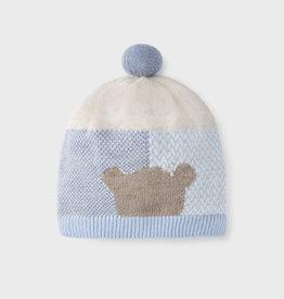 Mayoral Blue/Cream Bear Hat