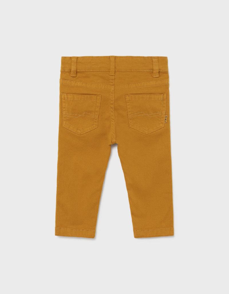 Mayoral Baby Boy Slim Fit Ochre Pants