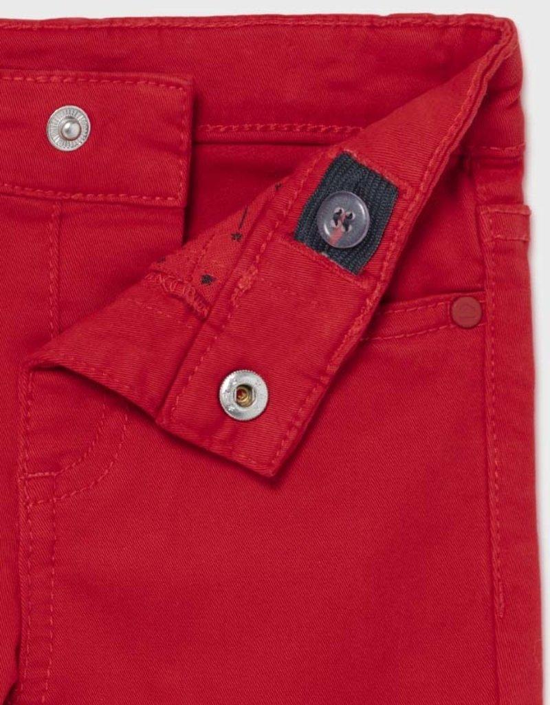 Mayoral Baby Boy Slim Fit Red Pant