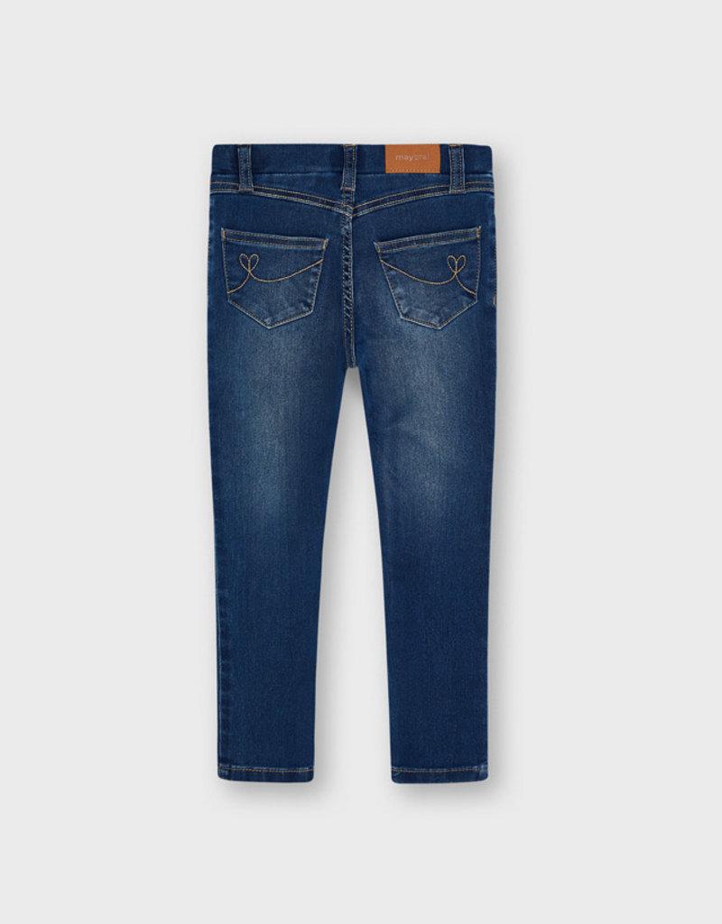 Mayoral Girls Basic Denim Jeans Med