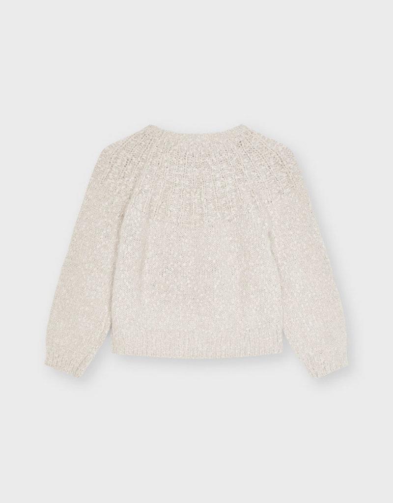 Mayoral Beige Sweater