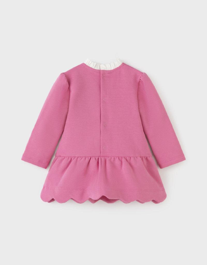 Mayoral Camellia Fleece Dress