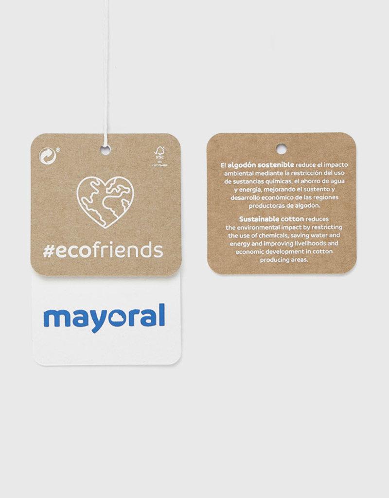Mayoral Fuchsia Plaid Leggings