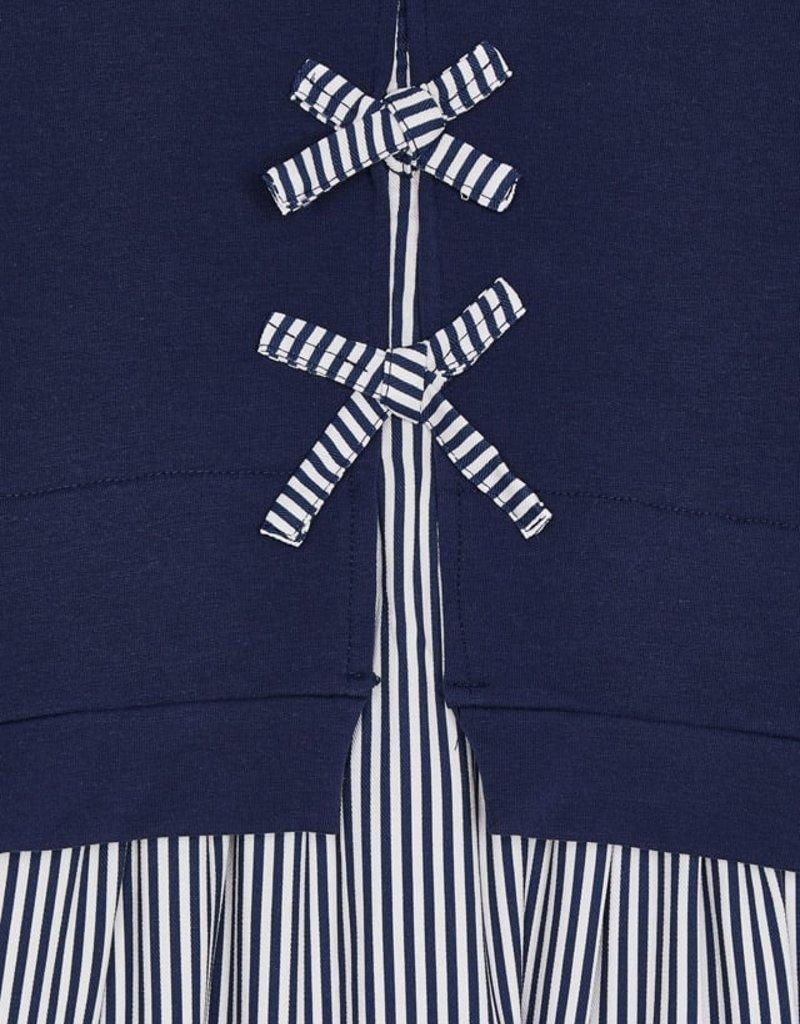 Mayoral Ink Striped Dress