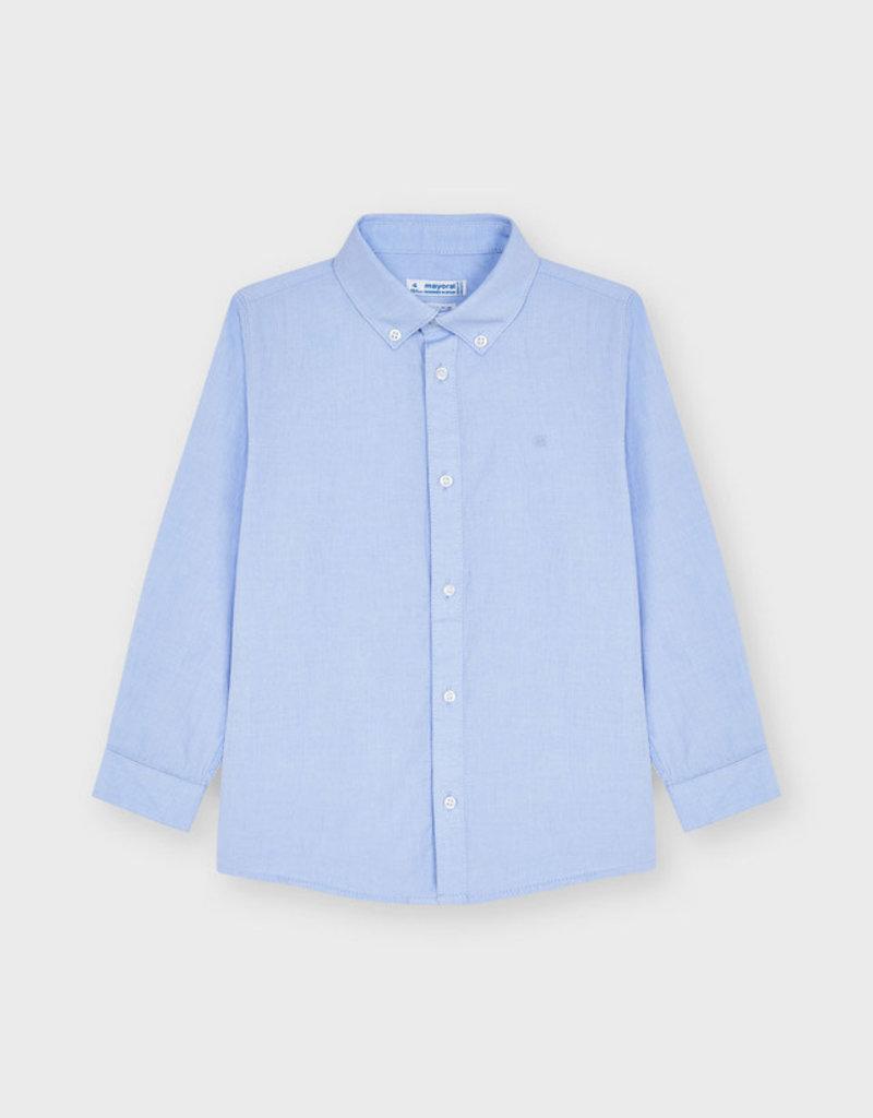 Mayoral Light Blue L/S Shirt