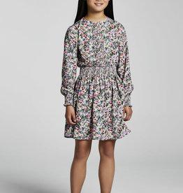 Mayoral Lilac Flowers Dress