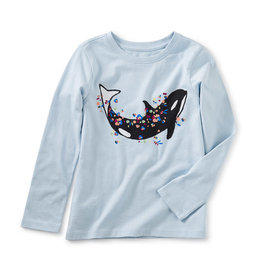 Tea Collection Floral Orca L/S Tee