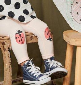 Tea Collection Ladybug Graphic Leggings Pink Salt