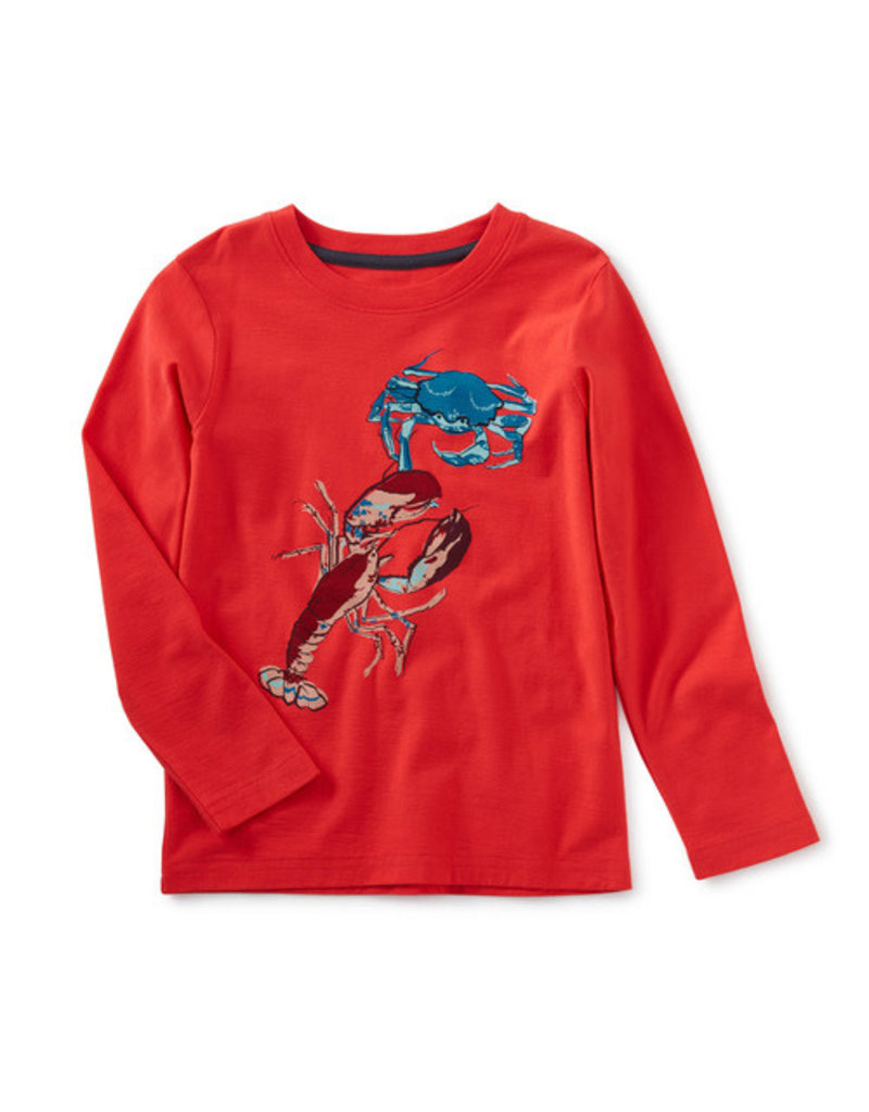 Tea Collection Lobster Crab Graphic Tee