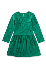 Tea Collection Skirted Staple Dress Floral Folklore