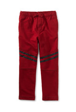 Tea Collection Speedy Stripe Play Pant Red Wagon