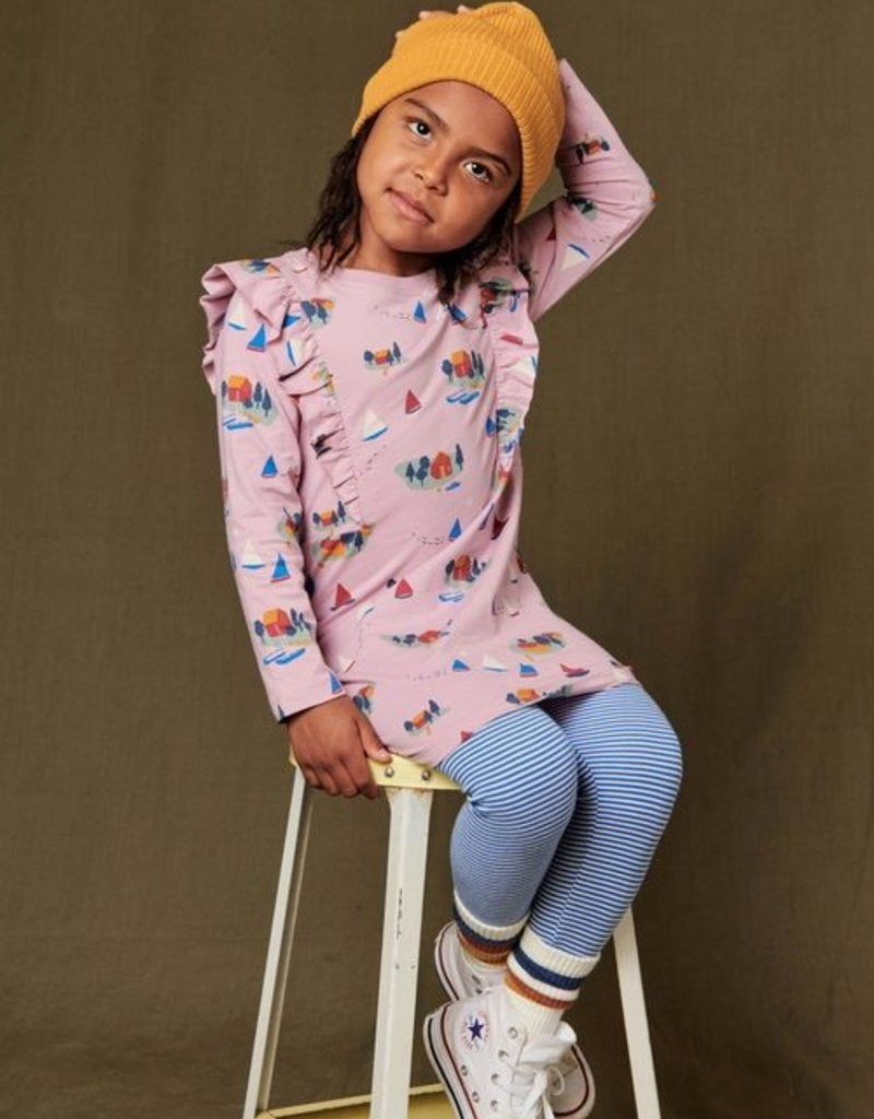 Tea Collection Striped Leggings Imperial