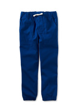 Tea Collection Unlined Canvas Jogger Marine