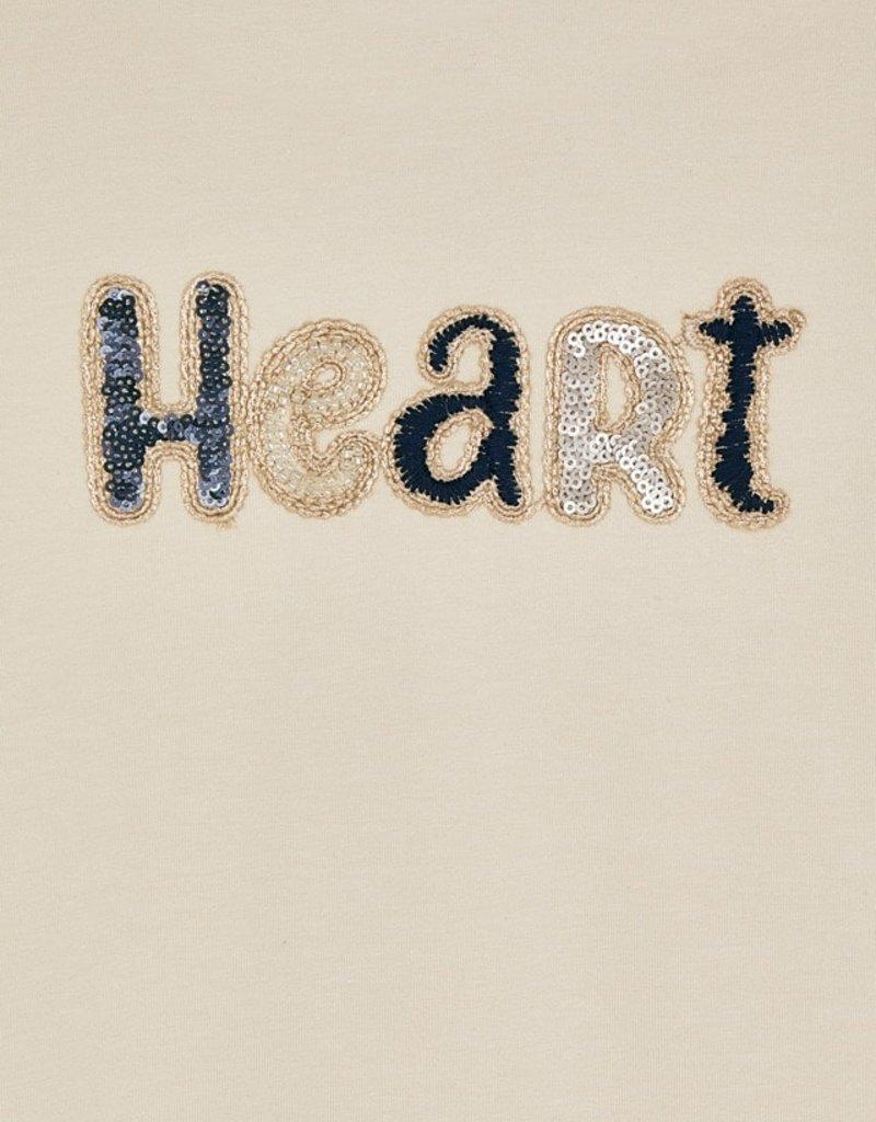 Mayoral Almond Heart Printed Tee w/Leggings