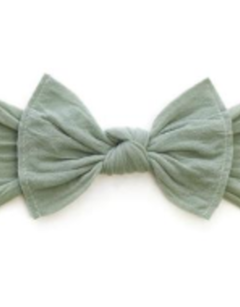 Baby Bling Bow Knot Bow Sage