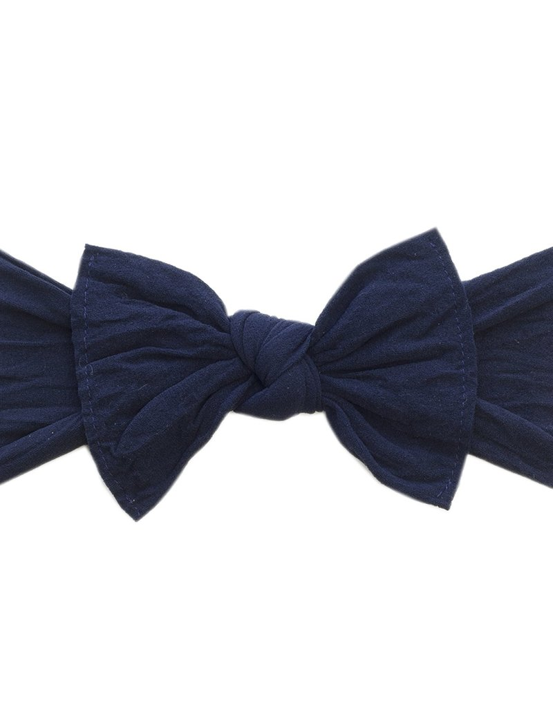 Baby Bling Bow Knot Bow Navy