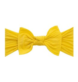 Baby Bling Bow Knot Bow Mustard