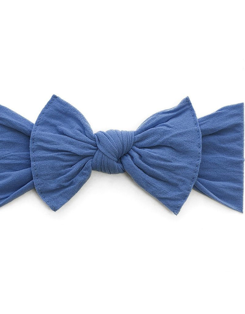 Baby Bling Bow Knot Bow Denim