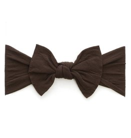 Baby Bling Bow Knot Bow Brown