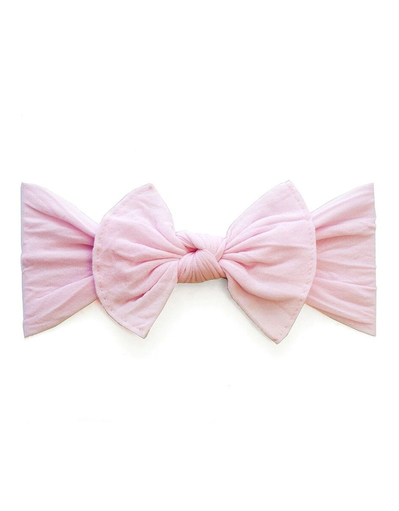Baby Bling Bow Itty Bitty Knot Pink