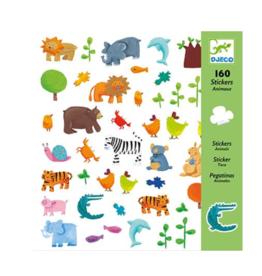 Djeco Animals Sticker Sheets