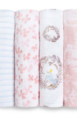 Classic Swaddle 4 pack Birdsong