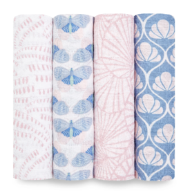 Classic Swaddle 4 pack Deco