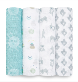 Classic Swaddle 4 pack Now Zen