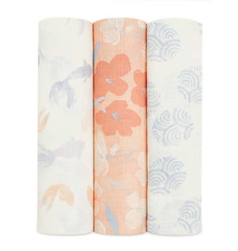 Silky Soft Swaddle 3 Pack Koi Ponds