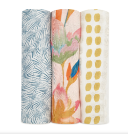 Silky Soft Swaddle 3 Pack Marine Gardens