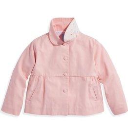bella bliss Peplum Coat w/Bow Pink
