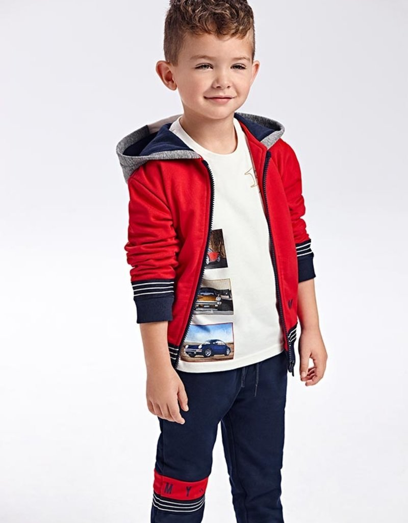 Mayoral Red 2pc Tracksuit