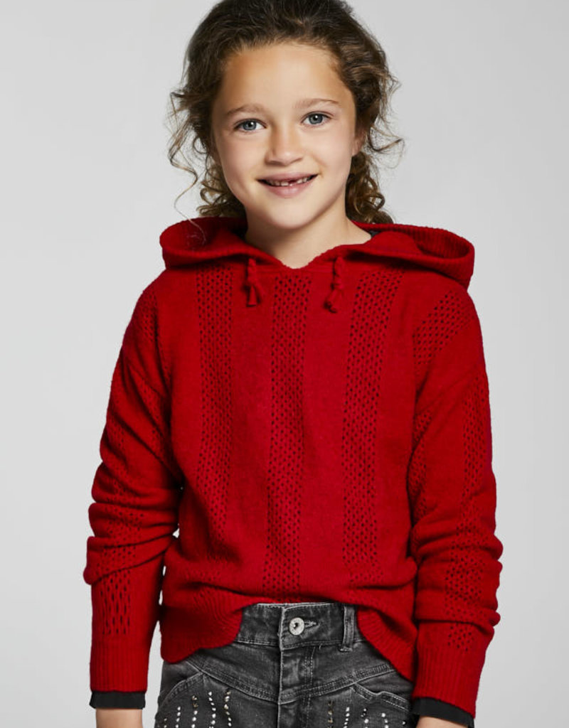 Mayoral Red Hooded Sweater