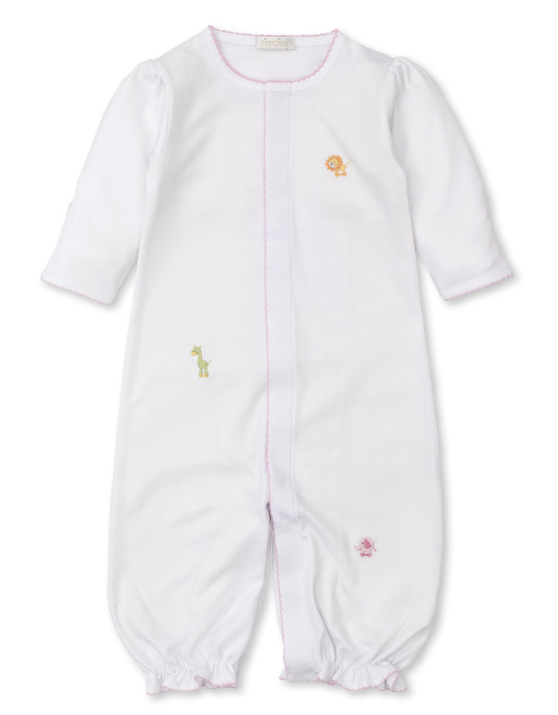 Kissy Kissy Jungle Joy Conv Gown w/Hand Embroidery Pink